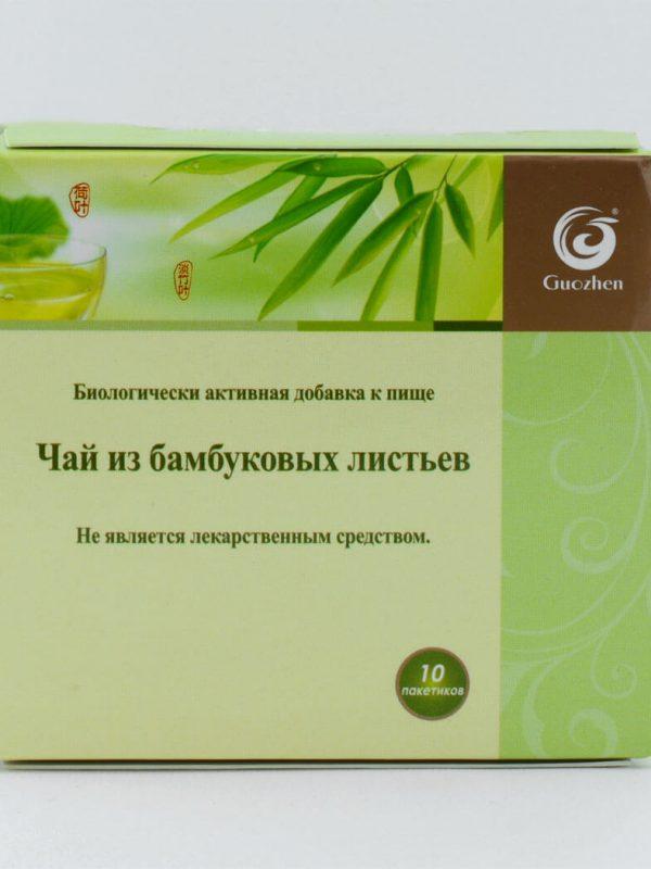 Чай от бамбукови листа GUOZHEN 10 пакета